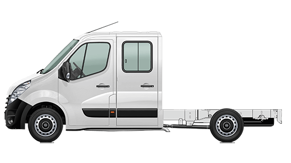 Movano Chassis Crew Cab